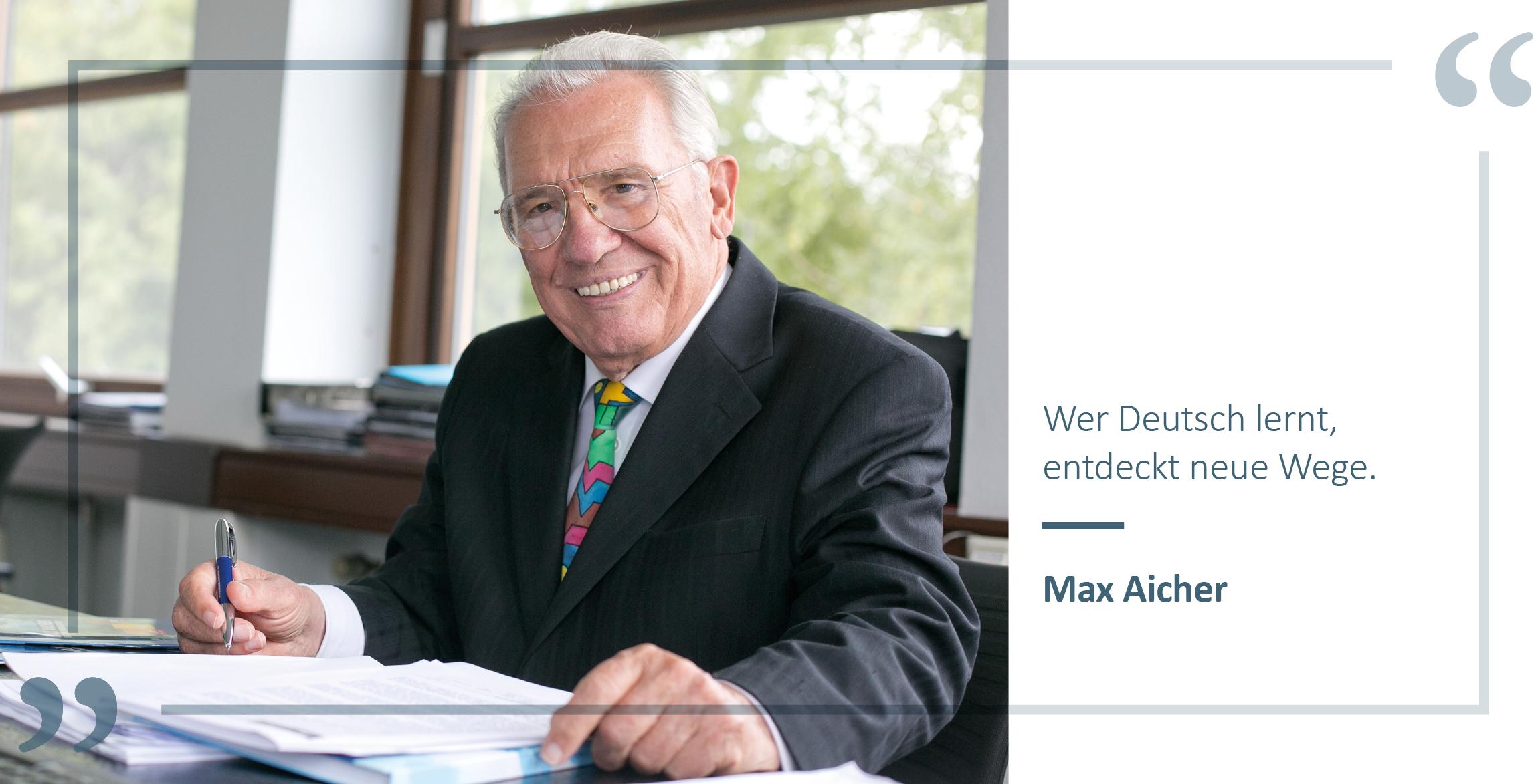 Zitat Max Aicher Über Uns